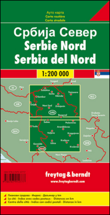 Serbia nord 1:200.000