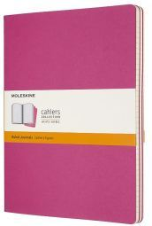 Set 3 quaderni Cahier Journals - a righe - XL - Rosa