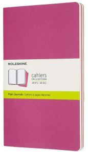 Set 3 quaderni Cahier Journals - pagine bianche - Large - Rosa