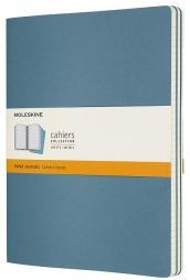 Set di 3 quaderni Cahier - a righe - XL - Brisk Blue