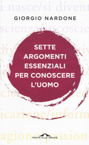 Sette argomenti essenziali per conoscere l'uomo - Giorgio Nardone |