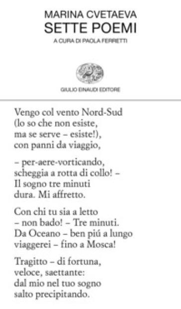Sette poemi - Marina Cvetaeva |