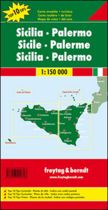 Sicilia-Palermo 1:150.000