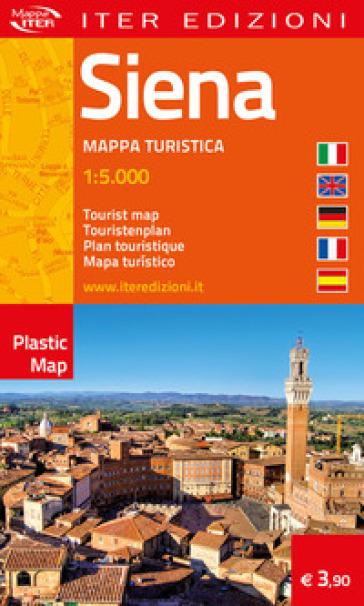 Siena. Mappa turistica 1:5.000. Ediz. multilingue