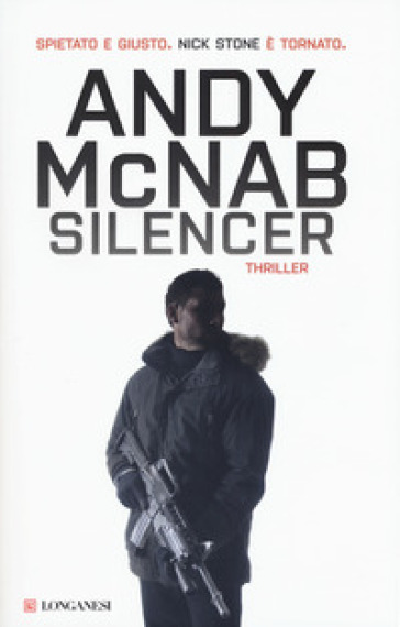 Silencer - Andy McNab | Rochesterscifianimecon.com