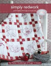 Simply Redwork: Embroidery the Hugs  n Kisses Way