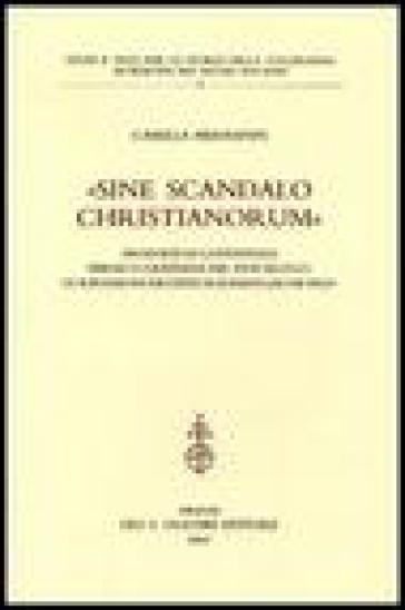 «Sine scandalo christianorum». Proposte di convivenza ebraico-cristiana nel XVIII secolo: le riflessioni erudite di Johann Jacob Frey - Camilla Hermanin |