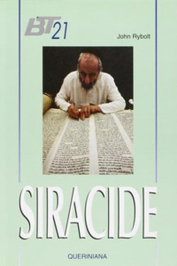 Siracide - John Rybolt | Ericsfund.org