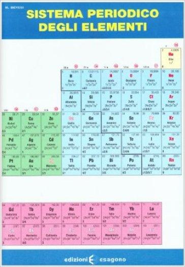 Sistema periodico degli elementi. Per le Scuole superiori - M. Bevesi  