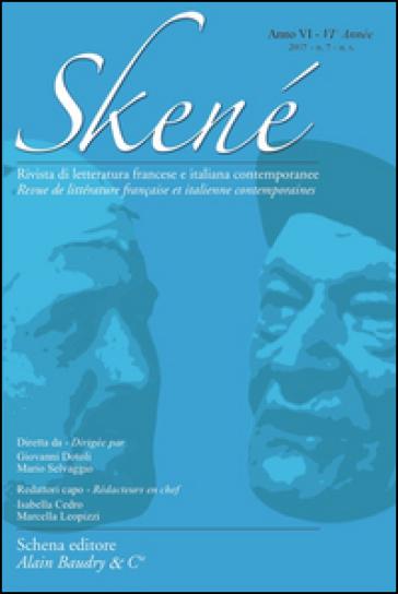 Skené. Rivista di letteratura francese e italiana contemporanee (2017). 7.