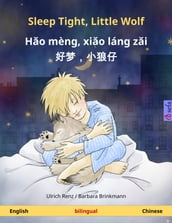 Sleep Tight, Little Wolf - Ho mèng, xio láng zi  (English - Chinese). Bilingual children s book, age 2-4 and up
