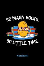 So Many Books, So Little Time Notebook