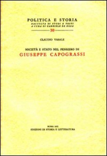 Società e Stato nel pensiero di Giuseppe Capograssi - Claudio Vasale | Kritjur.org