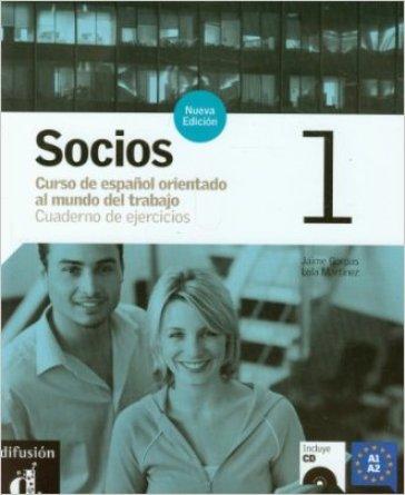 Socios. Cuaderno de ejercicios. Per gli Ist. professionali per i servizi commerciali. Con CD Audio. 1. - Marisa Gonzales | Kritjur.org