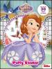 Sofia la principessa. Puffy sticker. Con adesivi
