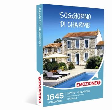 Soggiorno di charme cofanetto regalo mondadori store for Regalo soggiorno