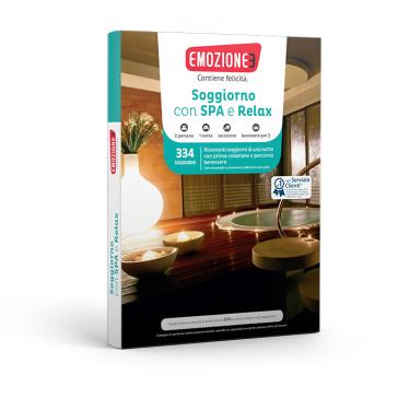 Soggiorno con Spa e Relax - Cofanetto regalo - Mondadori Store