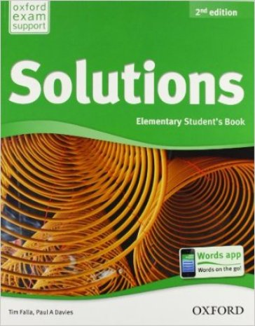 Solutions. Elementary. Student's book-Workbook. Per le Scuole superiori. Con CD Audio