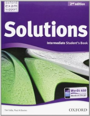 Solutions. Intermediate. Student's book-Workbook. Per le Scuole superiori. Con CD Audio