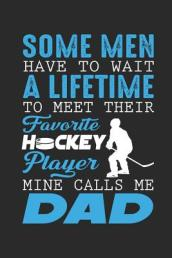 Some Men Have to Wait a Lifetime to Meet Their Favorite Hockey Player