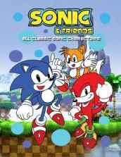 Sonic & Friends Coloring Book
