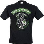 Sons Of Anarchy - Ireland (T-Shirt Uomo S)