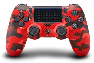 Sony Controller DS4 V2 Red Camouflage