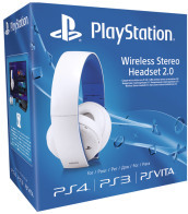 Sony Cuffie Wireless Premium 2.0 White