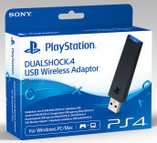 Sony Dualshock 4 USB Wireless Adaptor PC