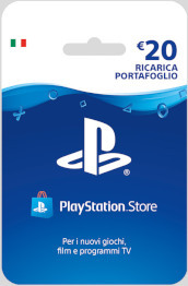 Sony PSN Hanging Card 20 Euro