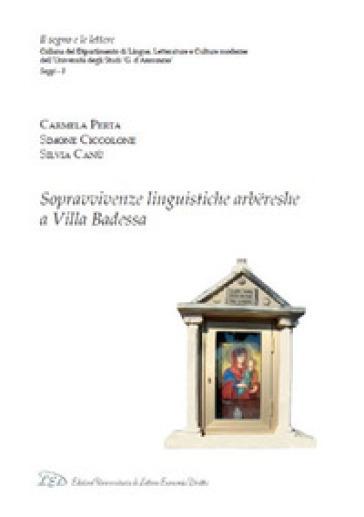 Sopravvivenze linguistiche arbereshe a Villa Badessa - Carmela Perta   Rochesterscifianimecon.com
