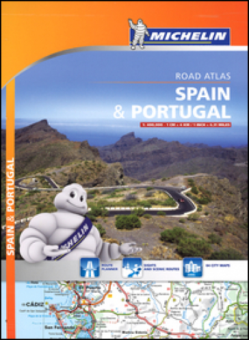 Spain & Portugal. Road atlas 1:400.000