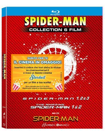 Spider-Man Collection (6 Blu-Ray)