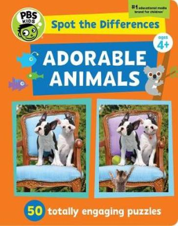 Spot The Differences: Adorable Animals