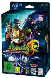 Star Fox Zero First Print Edition Ltd.Ed