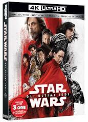 Star Wars Episodio VIII - Gli ultimi Jedi (3 Blu-Ray)(4K UltraHD+BRD + bonus disc)