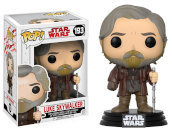 Star Wars The Last Jedi - Pop Funko Vinyl Figure 193 Luke Skywalker