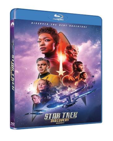 Star trek discovery - Stagione 02 Episodi 01-14 (4 Blu-Ray)