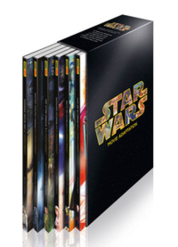 Star wars. Movie adaptations. Cofanetto