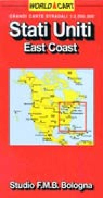 Stati Uniti. East coast 1:2.000.000 -  pdf epub
