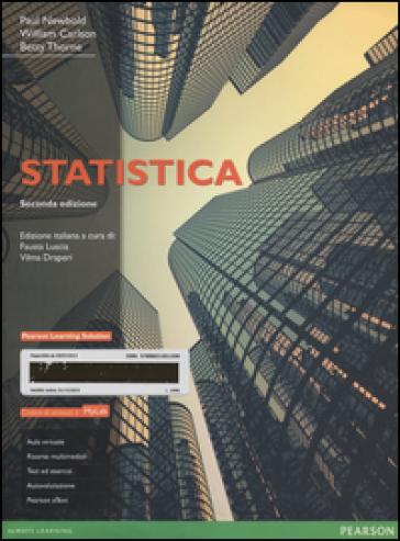 Statistica. Ediz. MyLab. Con aggiornamento online. Con e-book - Paul Newbold |