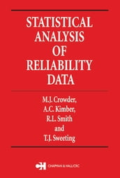 Statistical Analysis of Reliability Data