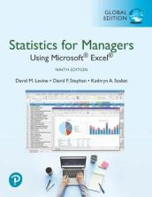 Statistics for Managers Using Microsoft Excel, Global Edition