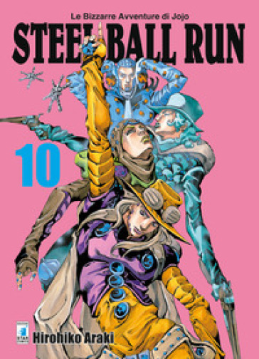 Steel ball run. Le bizzarre avventure di Jojo. 10. - Hirohiko Araki | Ericsfund.org