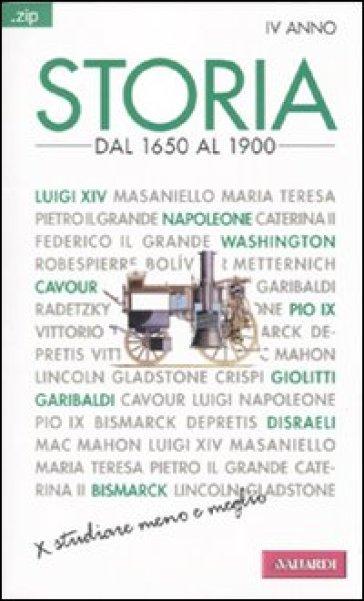 Storia. 4.Dal 1650 al 1900 - Sandra D'Alessandro  