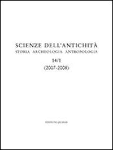 Storia, archeologia, antropologia (2007-2008). 14. - M. G. Benedetti | Kritjur.org