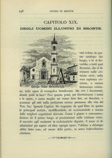 Storia della città di Bronte (rist. anast. Milano, 1883) - Gesualdo De Luca |