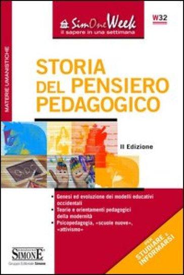 Storia del pensiero pedagogico