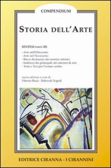 Storia dell'arte. 3.