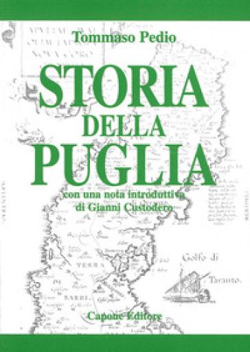 Storia della Puglia - Tommaso Pedio |